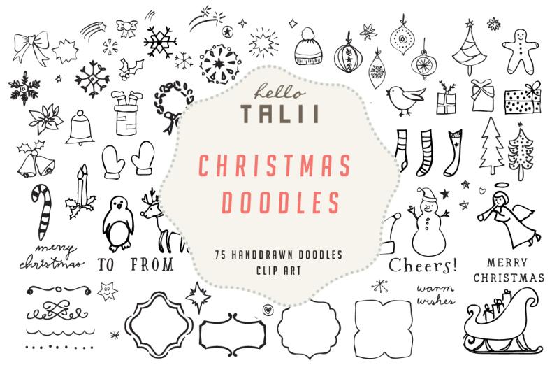 christmas-doodles-clip-art