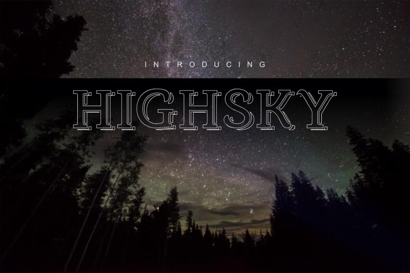 highsky-font