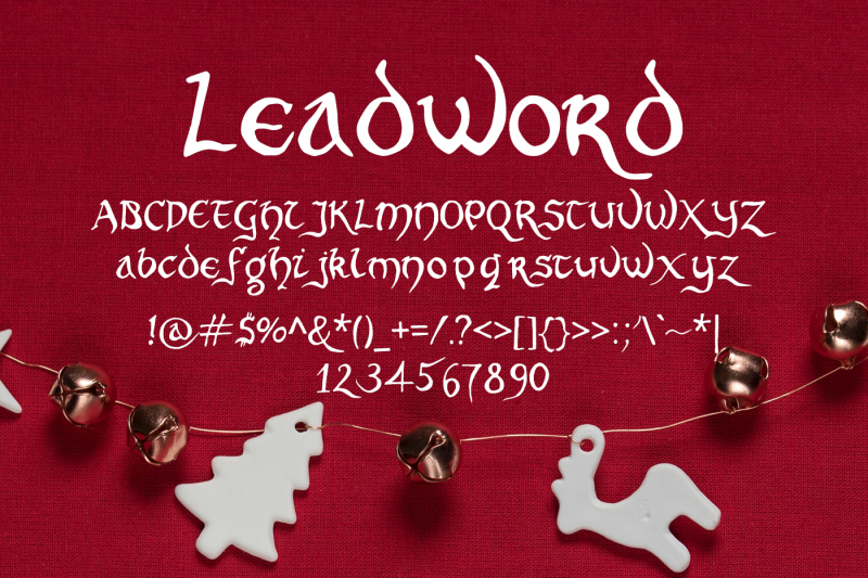 leadword-font