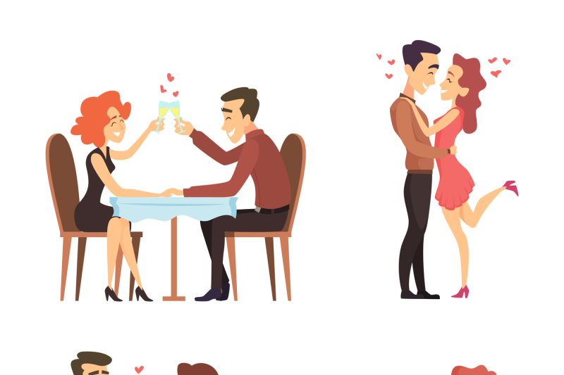 lovely-couples-funny-characters-romantic-male-and-female-illustratio