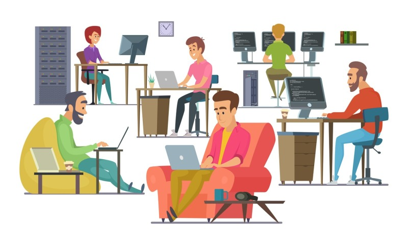 coworkers-at-work-male-and-female-programmers-and-designers