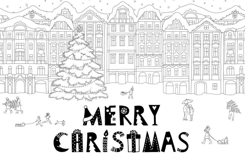 happy-december-christmas-font