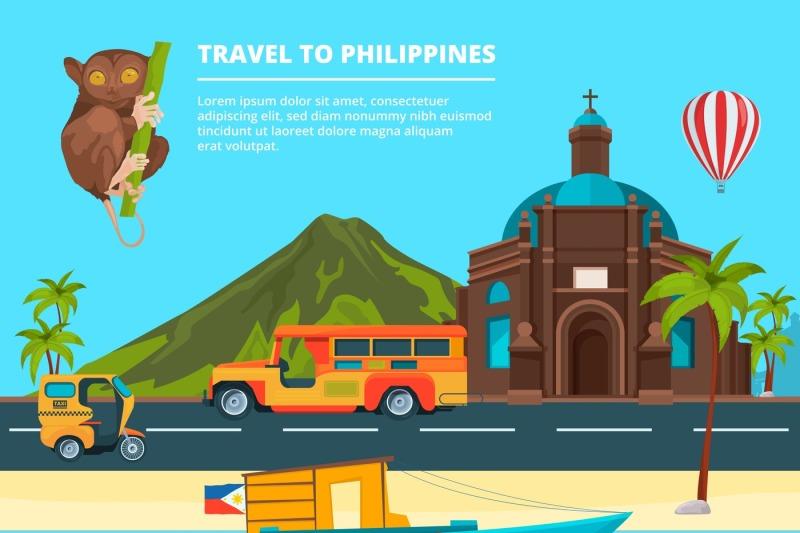 urban-landscape-with-landmarks-of-philippines