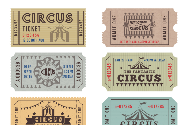 design-template-of-circus-tickets