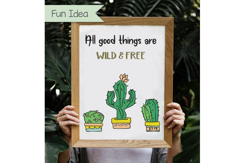 168-hand-drawn-potted-plants-amp-cactus-house-plants-clip-art