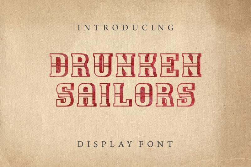 drunken-sailors-display-font