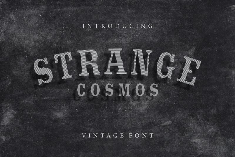 strange-cosmos-vintage-font