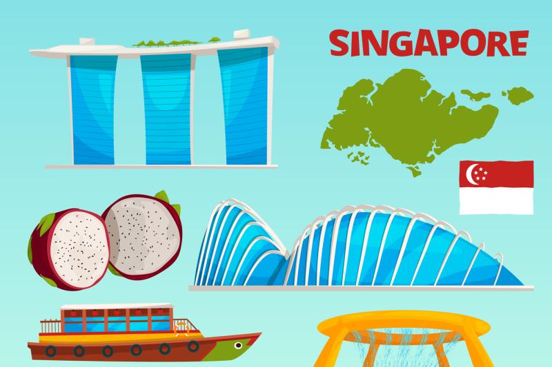 set-different-landmarks-of-singapore