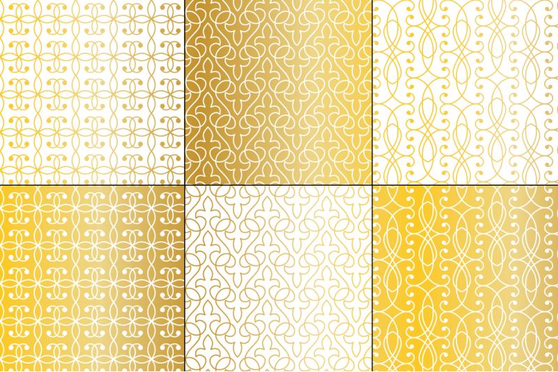 seamless-gold-wrought-iron-patterns