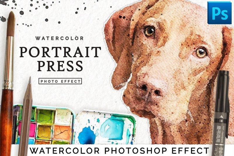 watercolor-portrait-effect-premium-filter-for-photoshop