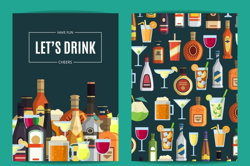 vector-card-flyer-or-brochure-template-for-bar-pub-or-liquor-store-w
