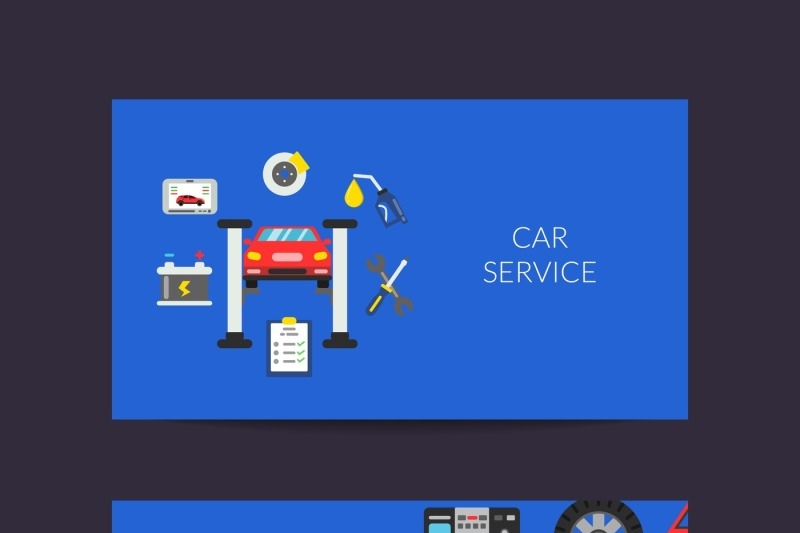vector-card-template-for-auto-service