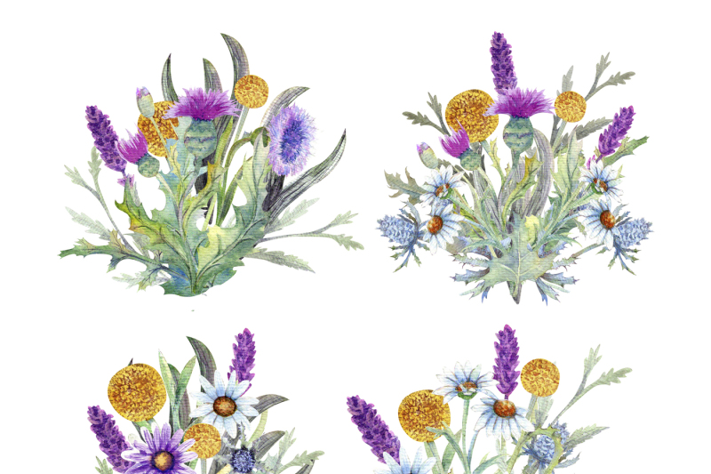 wild-flowers-watercolor
