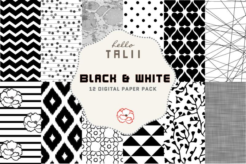 black-and-white-digital-paper