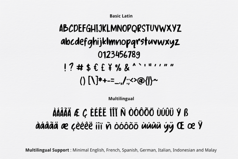 kandy-yum-font