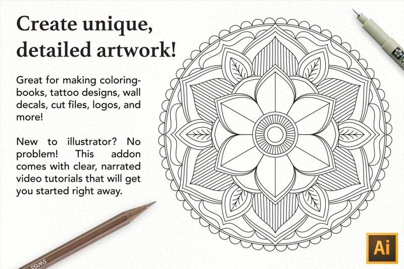 mandala-creator-pro-coloringbook-mandala-toolkit