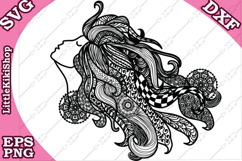 zentangle-girl-svg-mandala-girl-svg-fair-girl-cut-fil