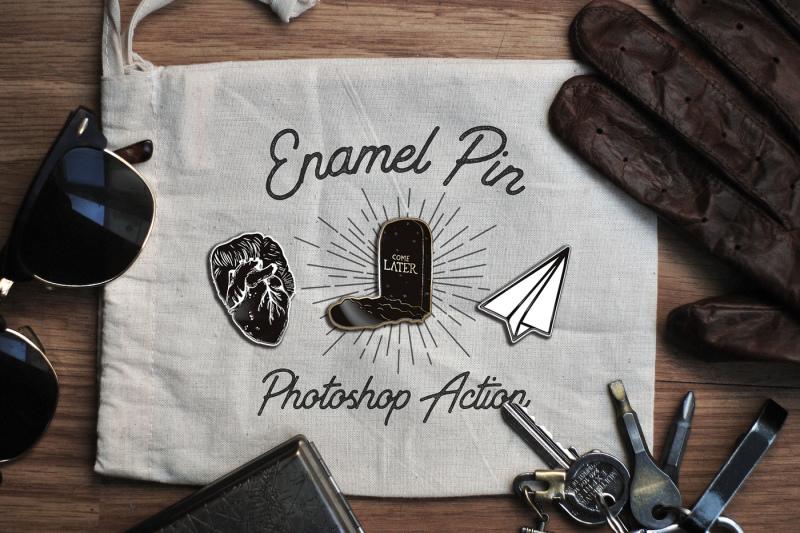 enamel-pin-photoshop-action