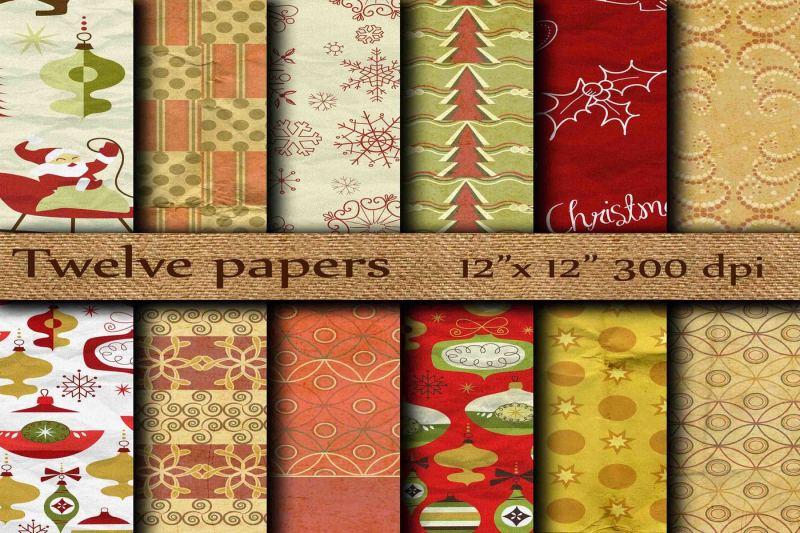 christmas-digital-paper