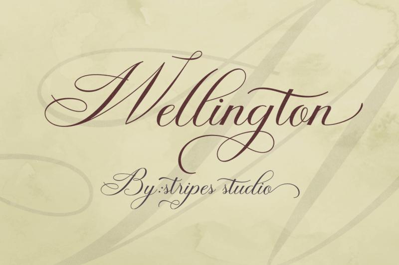 wellington-script