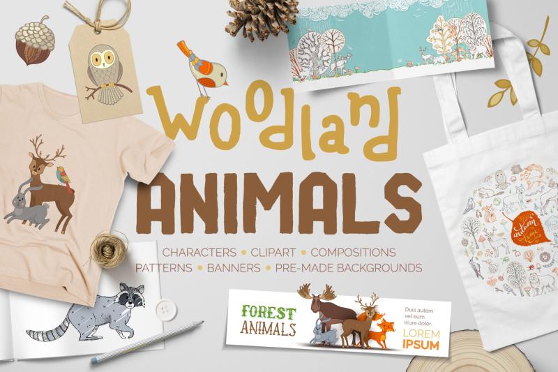 woodland-animals-pack
