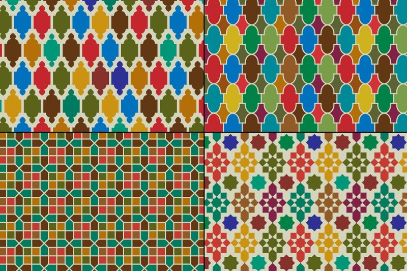 colorful-moroccan-patterns