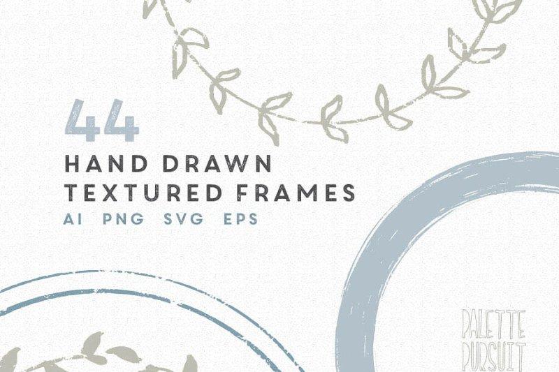 vector-hand-drawn-circle-frames