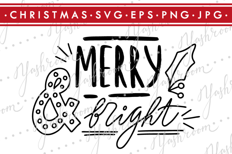 merry-and-bright-quote-svg-cut-file-silhouette
