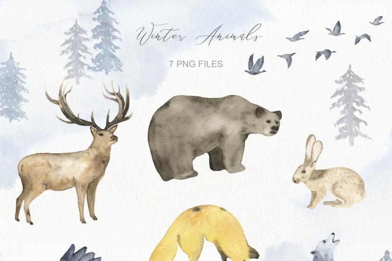 winter-wonderland-watercolor-set