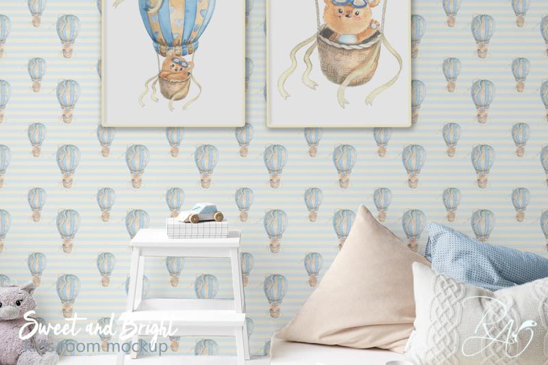 psd-nursery-mockup-kids-room-mockup-blank-wall-print-mockup-poster