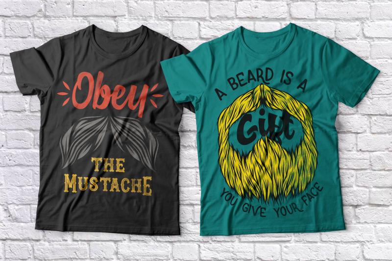 beards-t-shirts-set