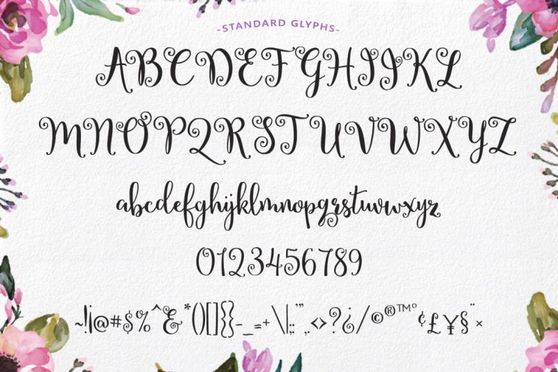 lettres-douces-hand-lettered-script