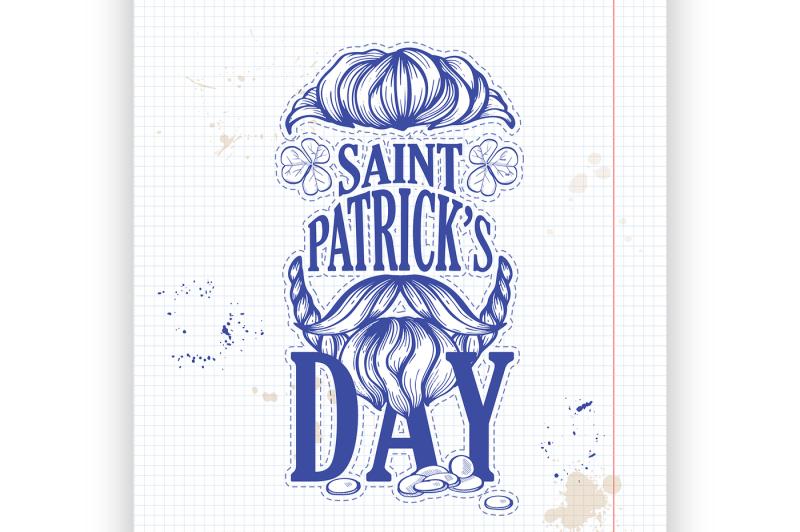 lettring-for-saint-patricks-day