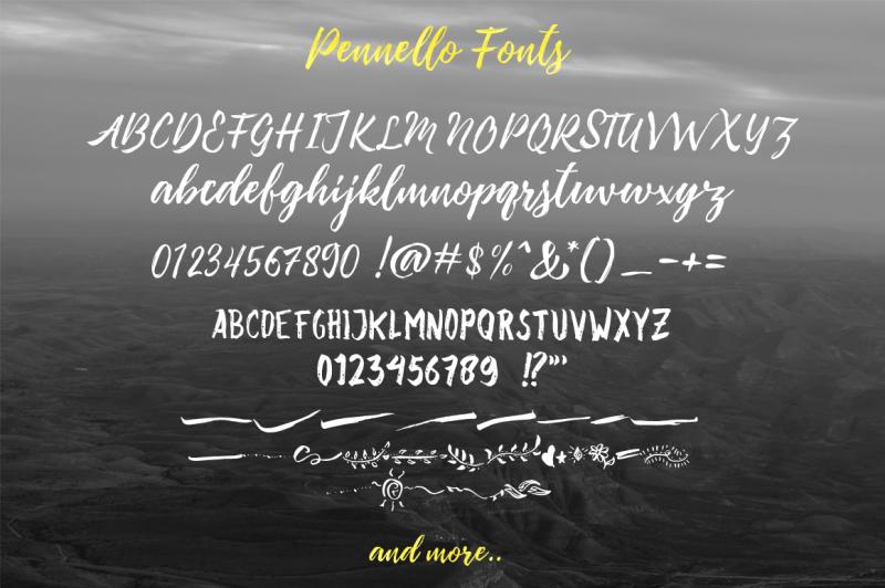 pennelo-font