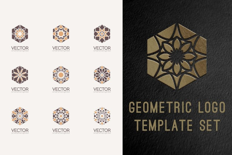 geometric-logo-template-set
