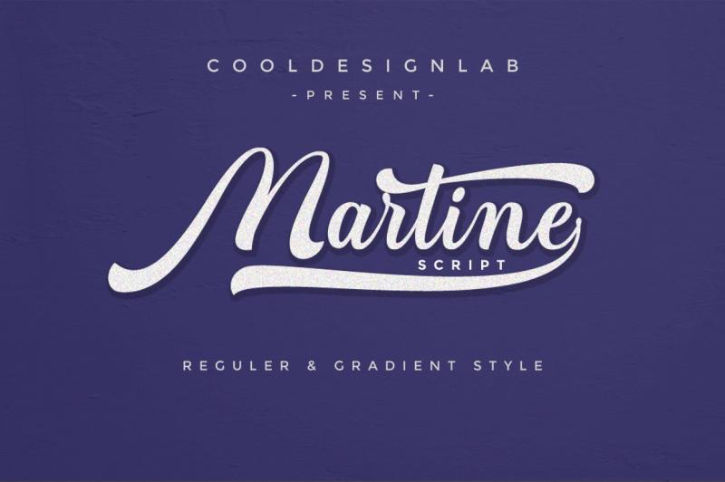 martine-script