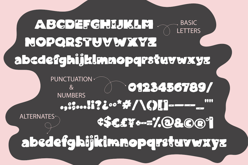 love-is-love-font-duo