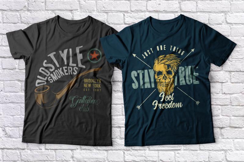 hipster-t-shirts-set