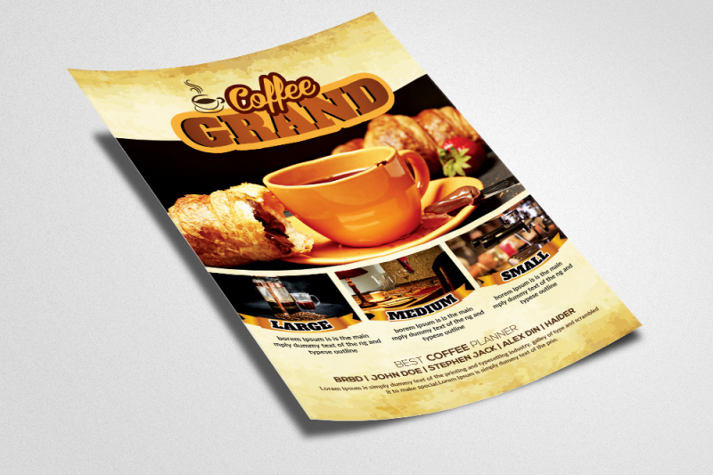 coffee-restaurant-flyer-template