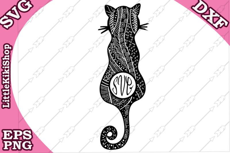 zentangle-cat-monogram-svg-mandala-cat-svg-monogram-cat-svg