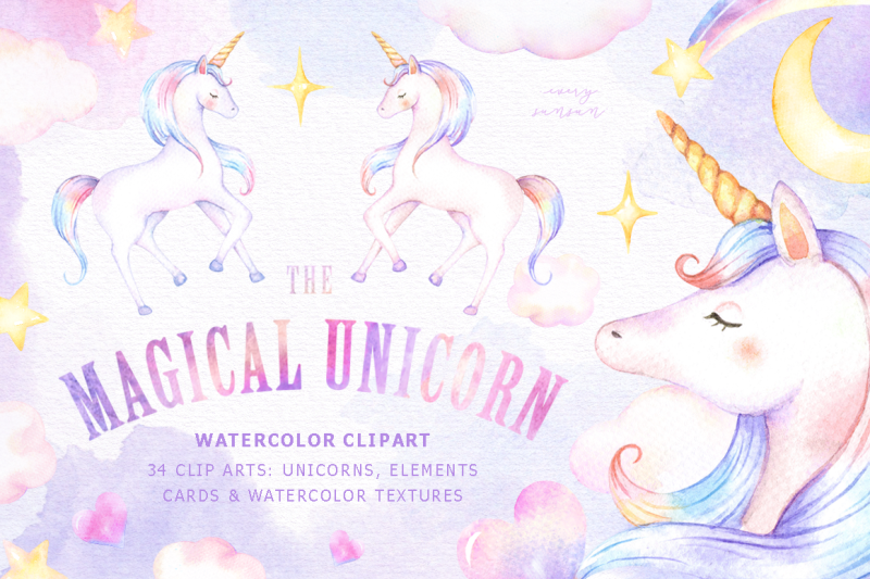the-magical-unicorn-watercolor-set