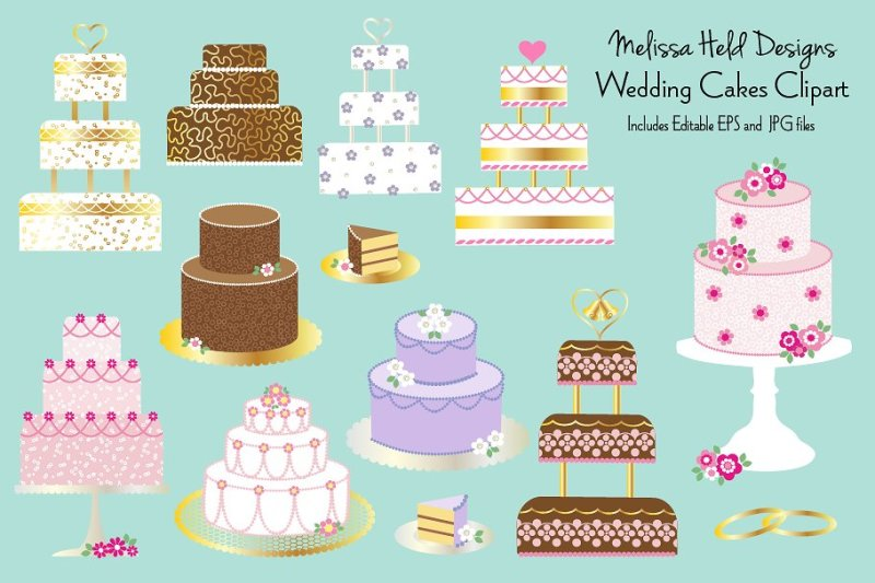 wedding-cakes-clipart