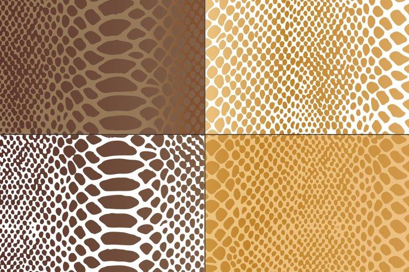 metallic-snakeskin-textures