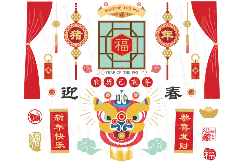 chinese-new-year-elements-2019