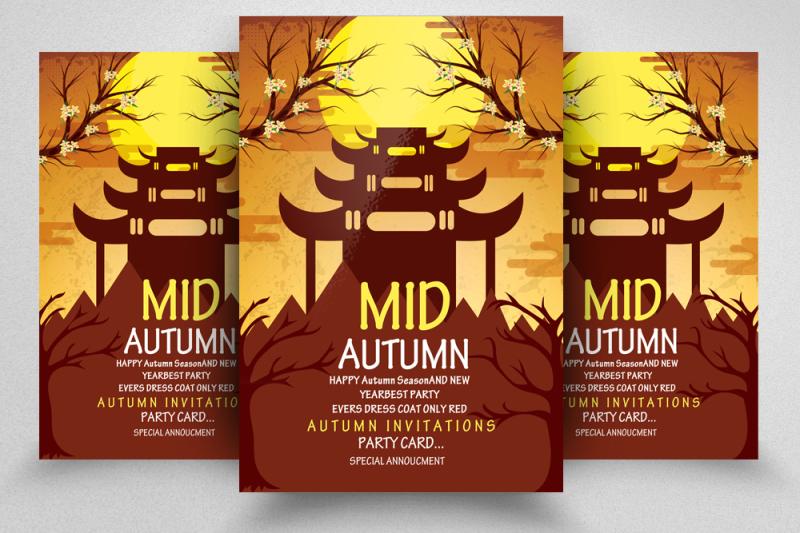 10-mid-autumn-flyers-bundle
