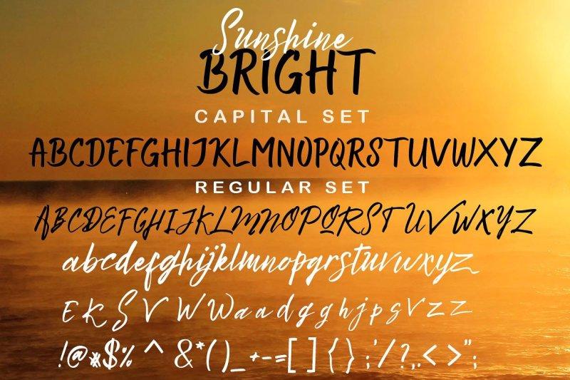 bright-sunshine-font-duo