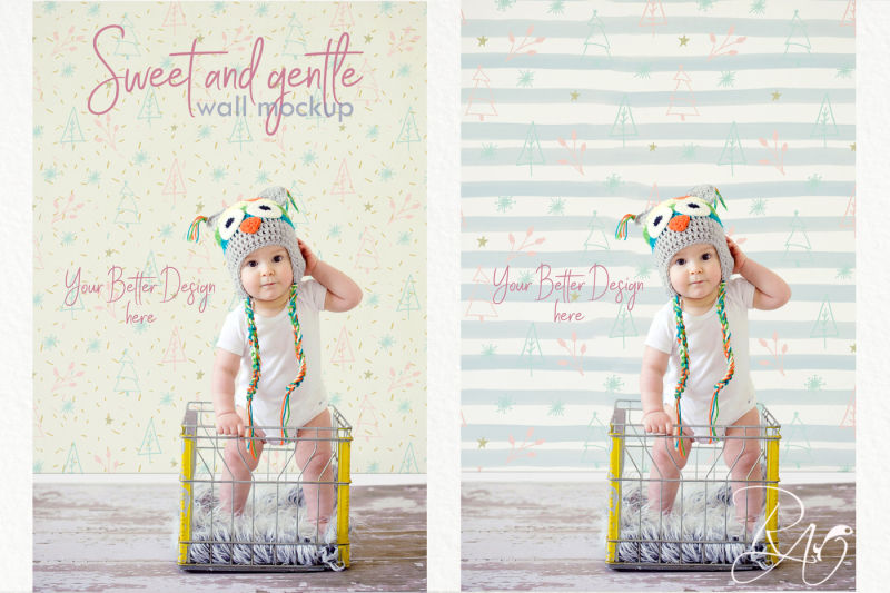 baby-girl-wall-mockup-psd