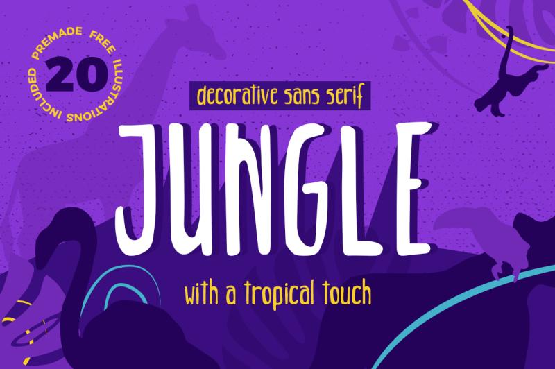 jungle-decorative-sans-serif