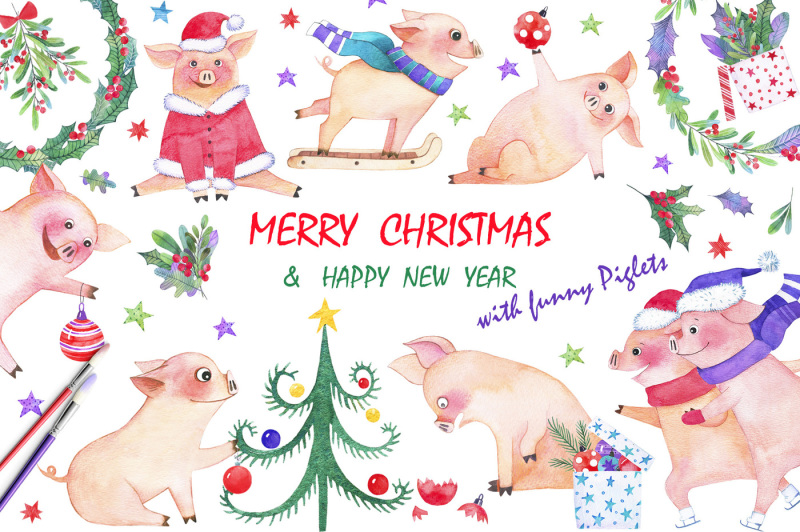 holiday-with-funny-piglets