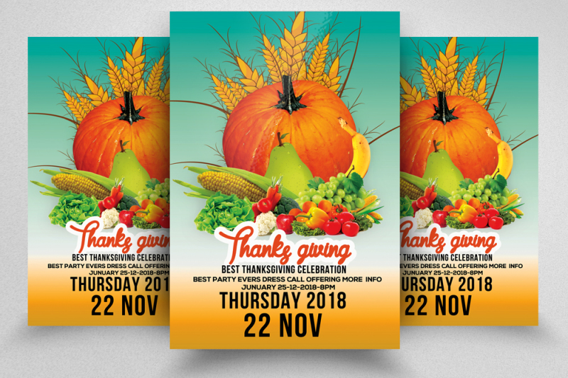 thanks-giving-party-flyer
